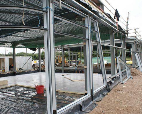curtain-walling Aluminium Curtain Walling Contractors